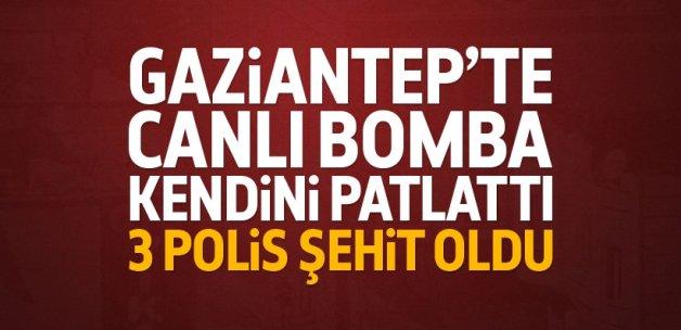Gaziantep'te patlama: Şehit ve yaralılar var!