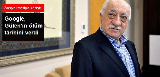 Google Fetullah Gülen'in Ölüm Tarihini Verdi: