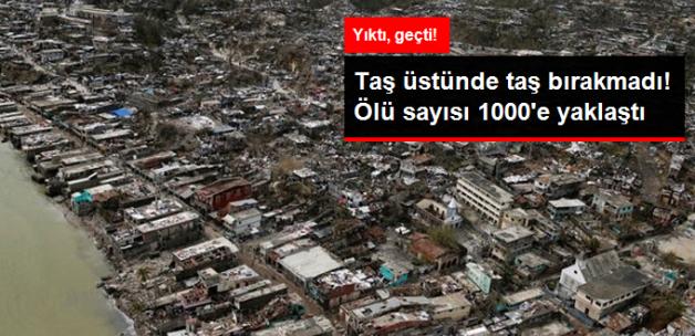 Haiti'de Bilanço Ağırlaşıyor! Ölü Sayısı 842'ye Ulaştı