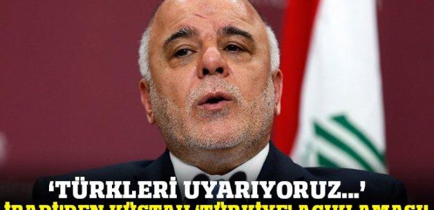 İbadi'den küstah 'Türkiye' açıklaması