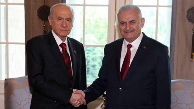 İki liderin 'Başkanlık' görüşmesi sona erdi