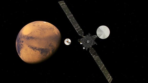 İlk defa NASA'nın göndermediği bir araç Mars'a indi