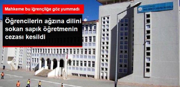 İlkokul Öğrencilerinin Ağzına Dilini Sokan Tacizci Öğretmene 297 Yıl Hapis Cezası