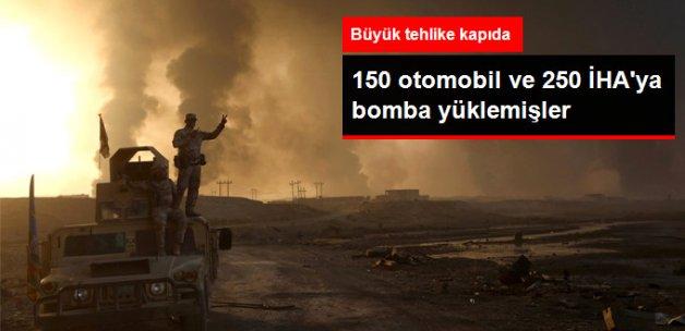 IŞİD 150 Otomobile ve 250 İha'ya Bomba Yerleştirdi