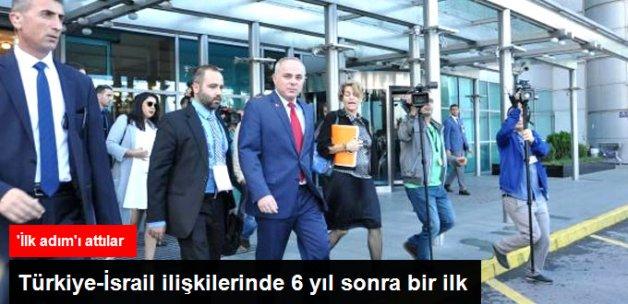 İsrail Enerji Bakanı 6 Yıl Aradan Sonra Türkiye'de