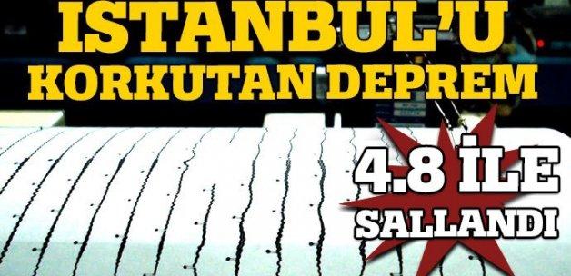 İstanbul'u korkutan deprem! (Son dakika deprem haberi)