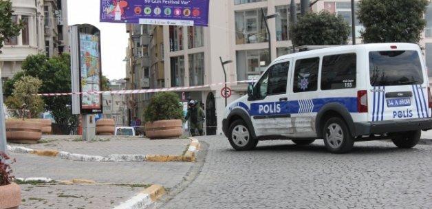 İstanbul'da şüpheli paket polisi alarma geçirdi