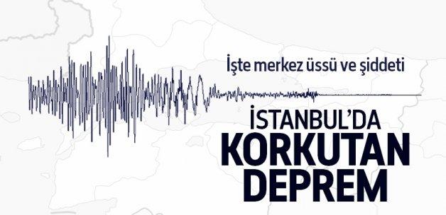 Karadeniz'deki deprem İstanbul'da da hissedildi