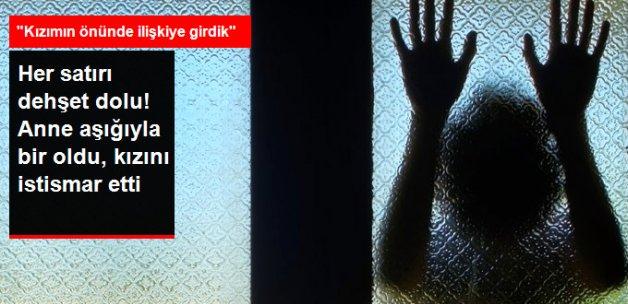 Kayseri'de Anne, Aşığıyla Birlikte Kızını İstismar Etti; Sanıklara Ceza Yağdı