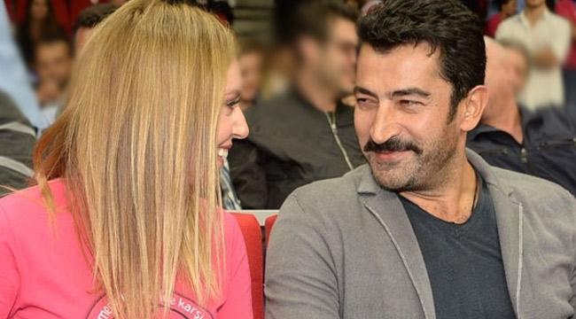 Kenan İmirzalioğlu ile Sinem Kobal'ın romantik anları