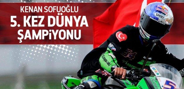 Kenan Sofuoğlu şampiyonluğunu ilan etti!
