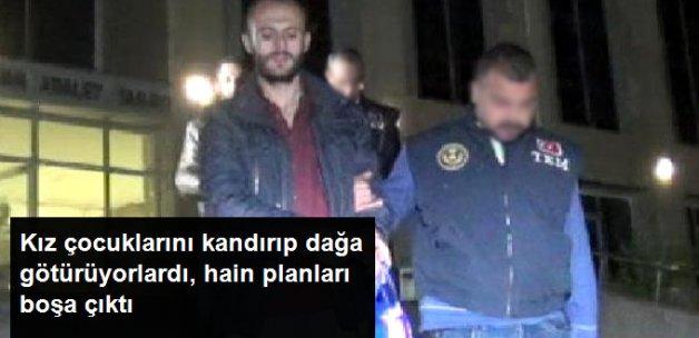 Kız Çocuklarını Dağa Götüren PKK'lılar Tutuklandı