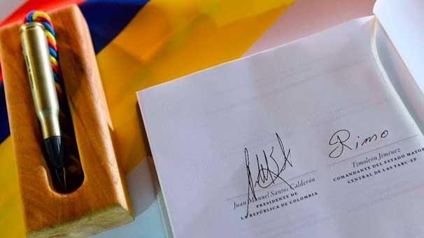 Kolombiya ve FARC, Nobel Barış Ödülü aday listesinden çıkarıldı