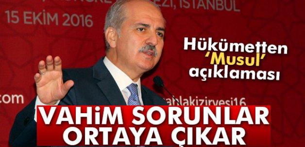 Kurtulmuş: 'Türkiye'nin Musul konusunda B ve C planları da vardır'