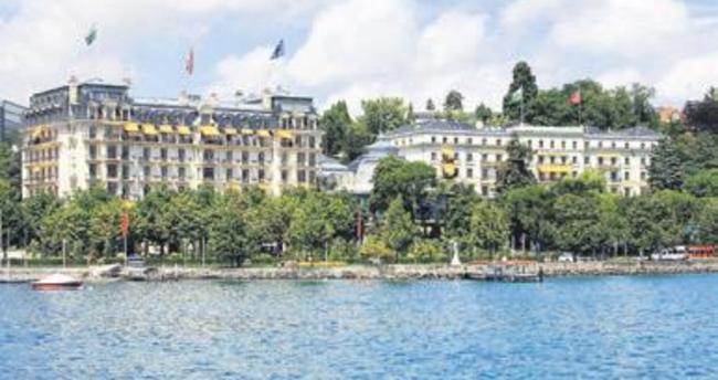 Lozan'ın imzalandığı otelde Suriye zirvesi
