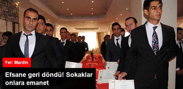 Mardin'de 94 Bekçi Yemin Edip Göreve Başladı!