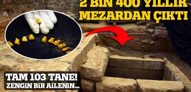 Muğla'da 2 bin 400 yıllık oda mezar bulundu