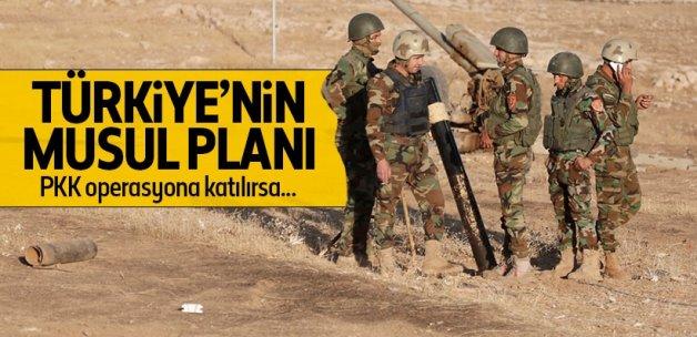 Musul operasyonunda PKK'ya geçit yok!