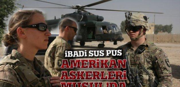Musul operasyonundaki ABD askerleri görüntülendi
