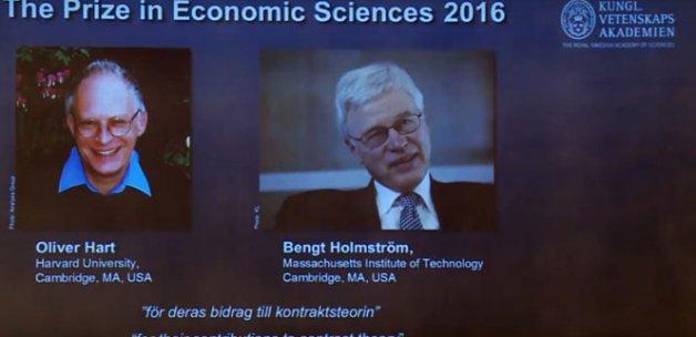 Nobel Ekonomi Ödülü'nün sahipleri belli oldu
