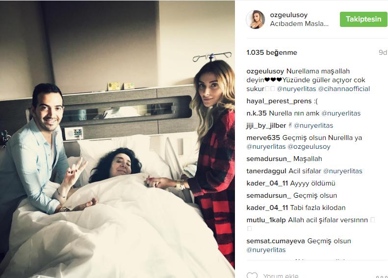 Nur Yerlitaş'ın son sağlık durumu!