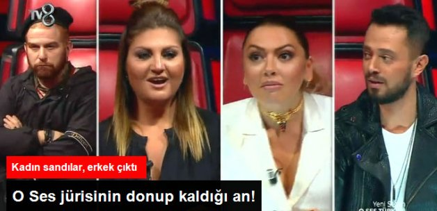 O Ses Türkiye'de Jüriyi Şaşırtan Yarışmacı! Ses ve Görüntü Farklı