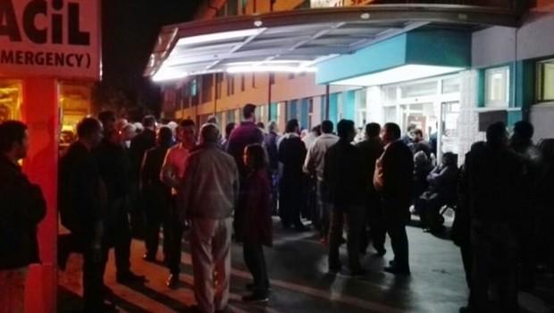 Öğrenci servisi devrildi: 24 öğrenci yaralı
