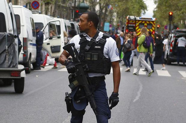 Paris'te terör alarmı: 1 kişi gözaltında