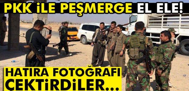 Peşmerge ve PKK'dan Kerkük hatırası