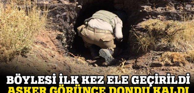 PKK'ya ait! Hakkari Şemdinli'de bulundu!
