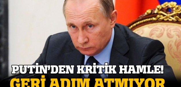 Putin'den kritik Suriye hamlesi!
