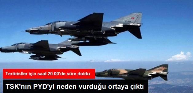 PYD El Bab İlerleyişini Durdurmayınca, Türk Jetleri Vurdu