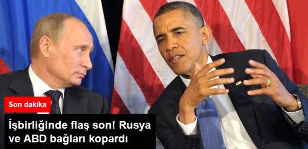 Rusya, ABD İle İşbirliğini Askıya Aldı