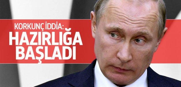 Rusya'da nükleer savaş hazırlığı