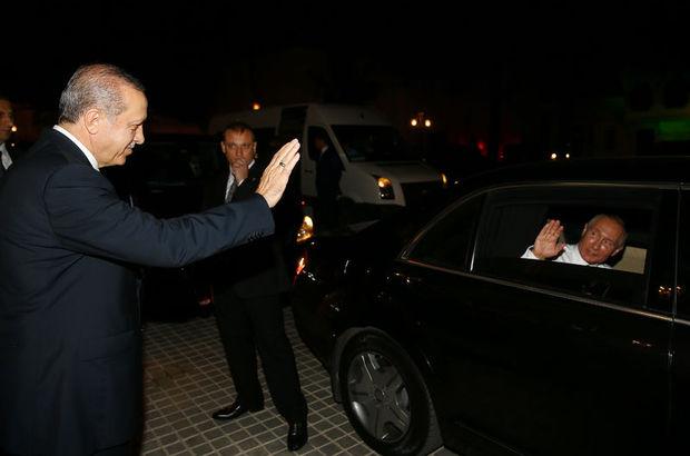 Rusya Devlet Başkanı Putin, Türkiye'den ayrıldı