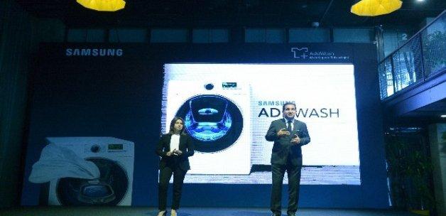 Samsung AddWash akıllı kapak teknolojili çamaşır makinesi Türkiye'de