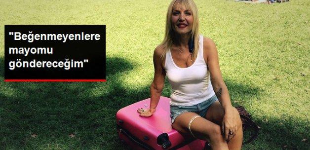 Seda Akgül Çok Kızdı: Beğenmeyenlere Mayomu Göndereceğim