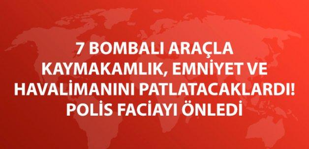 Son Dakika! Adana Polisi Bomba Yüklü Araçlarla Saldırıyı Önledi