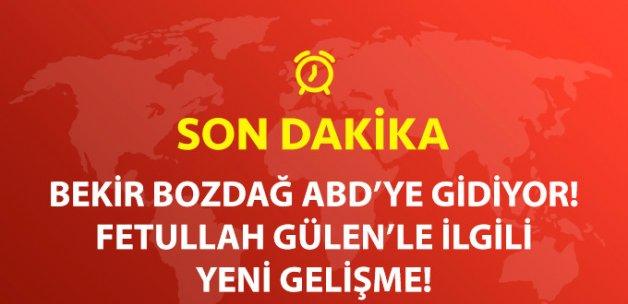 Son Dakika! Bekir Bozdağ Gülen'in Tutuklanma Kararını Görüşmek İçin ABD'ye Gidiyor