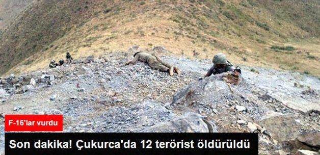 Son Dakika! Çukurca'da 12 Terörist Öldürüldü