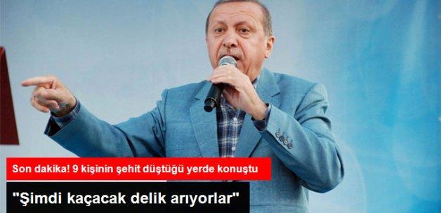 Son Dakika! Cumhurbaşkanı Erdoğan 9 Kişinin Şehit Düştüğü Kazan'da