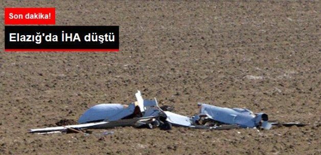 Son Dakika! Elazığ'da İHA Düştü