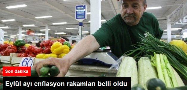 Son Dakika Gelişmesi... Eylül Ayı Enflasyon Rakamları Belli Oldu