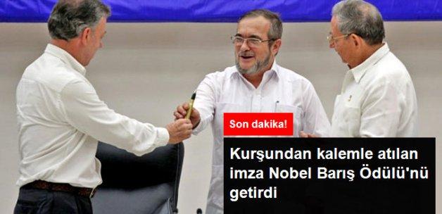 Son Dakika! Nobel Barış Ödülü Kolombiya Devlet Başkanı Santos'a Verildi