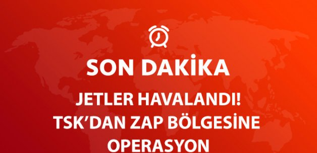 Son Dakika! TSK'dan Zap Bölgesine Operasyon!