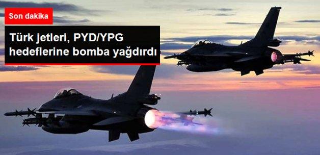 Son Dakika! Türk Jetleri, PYD/YPG Hedeflerini Vurdu