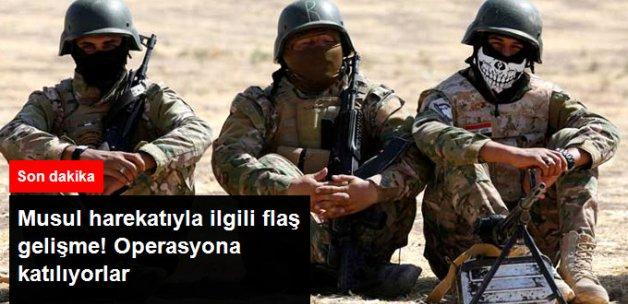 Son Dakika! Türk Ordusunun Eğittiği Musullu Savaşçılar, Musul Operasyonuna Katılacak