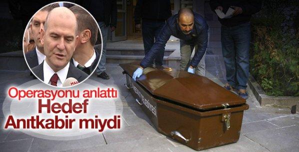 Süleyman Soylu: Canlı bomba Anıtkabir'de keşif yaptı