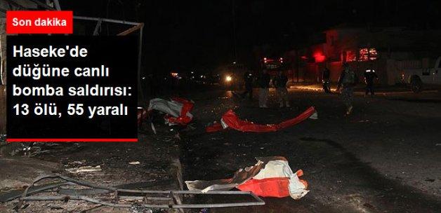 Suriye'de Düğüne Bombalı Saldırı: 13 Ölü, 55 Yaralı