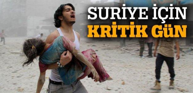 Suriye için kritik gün
